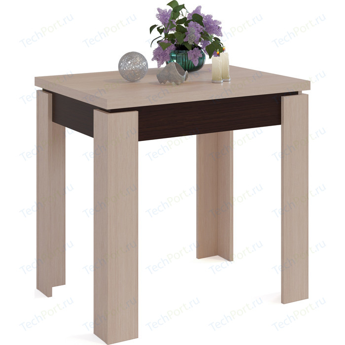 цена на Стол обеденный СОКОЛ СО-1 венге/беленый дуб