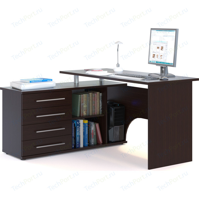 Компьютерный стол СОКОЛ КСТ-109Л венге