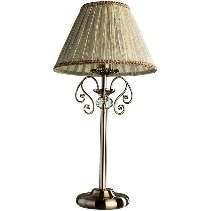 Настольная лампа Artelamp A2083LT-1AB a9070lt 1ab ivory настольная лампа