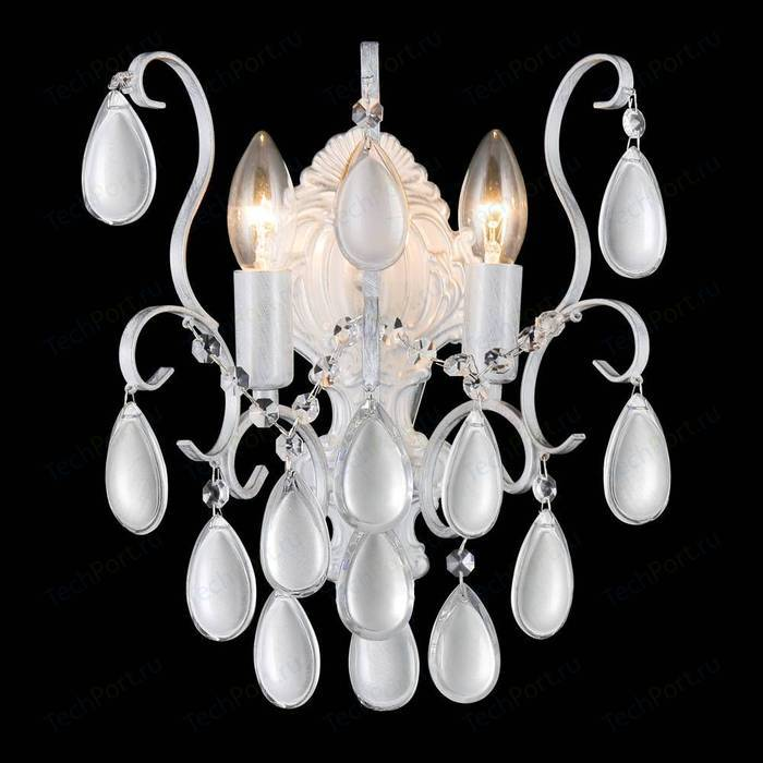 Бра Crystal Lux Sevilia AP2 Silver
