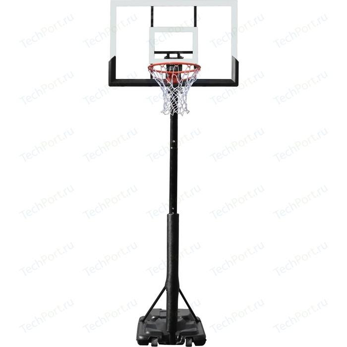 Баскетбольная мобильная стойка DFC STAND48P 120x80 см (поликарбонат)