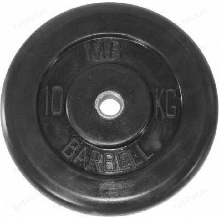 Диск обрезиненный Barbell 51 мм. 10 кг.