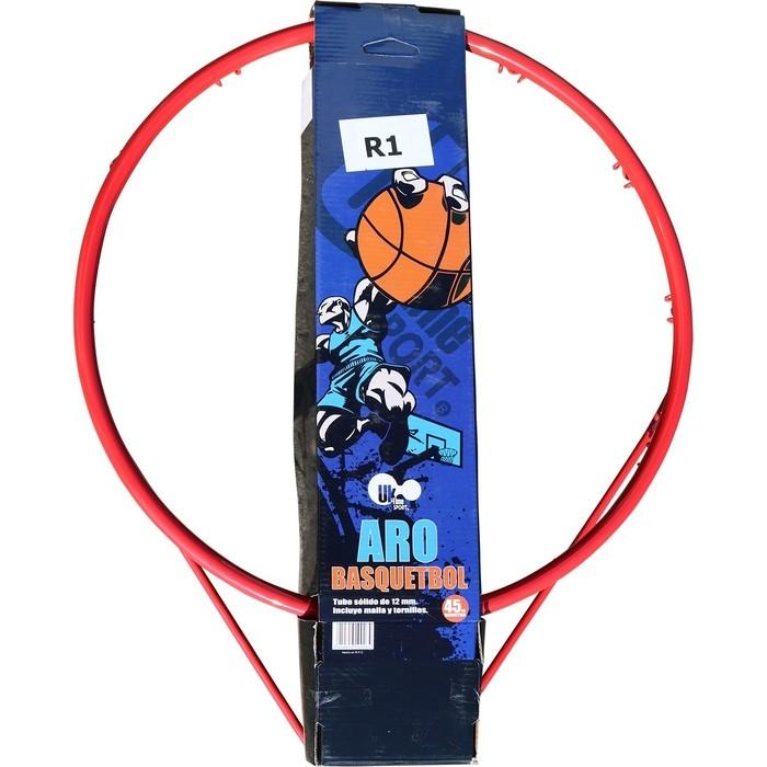 Кольцо баскетбольное DFC R1 45см (18 дюймов) оранжевое (трука 16мм)