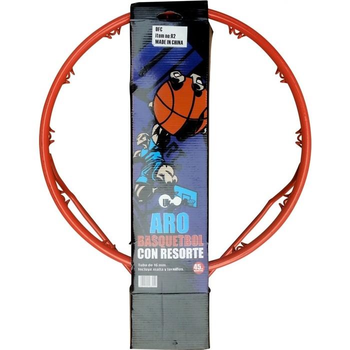 Кольцо баскетбольное DFC R2 45 см (18 дюймов) оранжевое (трубка 16 мм.)