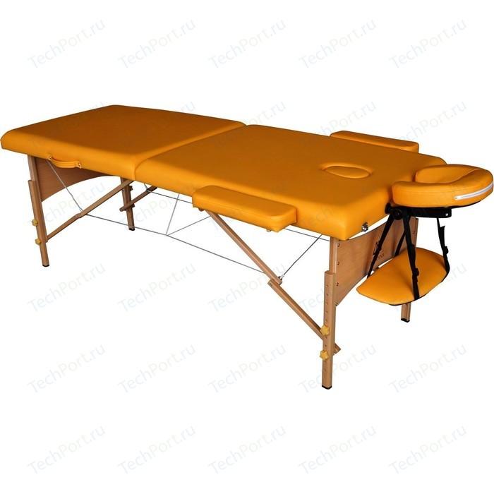 Массажный стол DFC Nirvana Relax (деревяные ножки, горчичный)