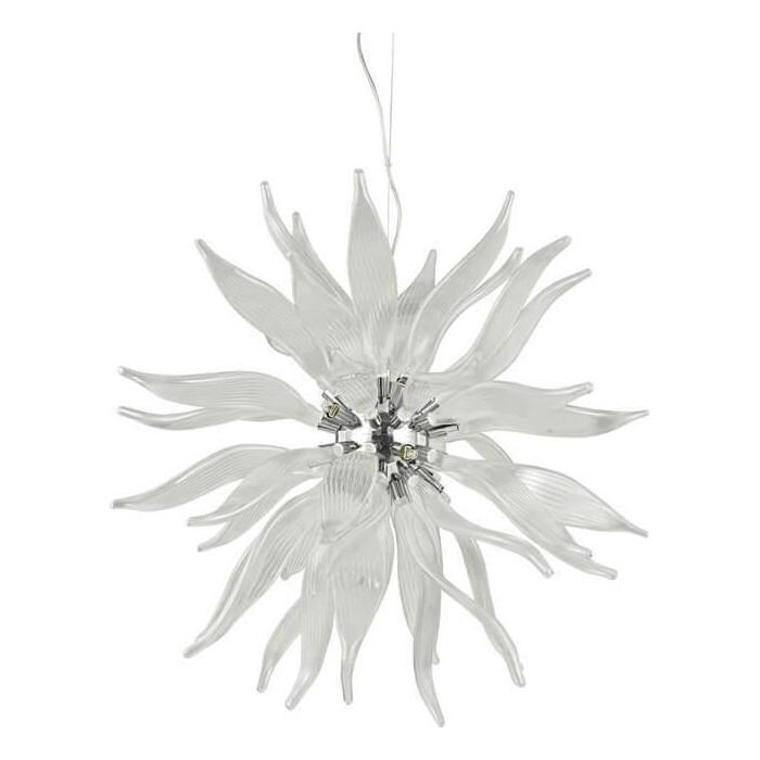 Подвесной светильник Ideal Lux Leaves SP12 Bianco