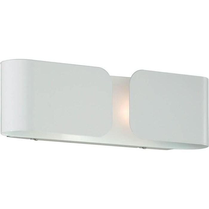 Настенный светильник Ideal Lux Clip AP2 Mini BIanco