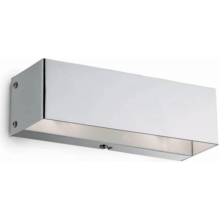Настенный светильник Ideal Lux Flash AP2 Cromo бра ideal lux senix senix ap2