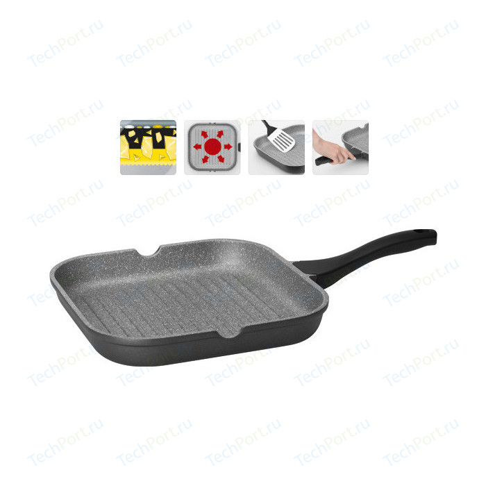 Сковорода-гриль Nadoba 28x28 см Grania (728120)