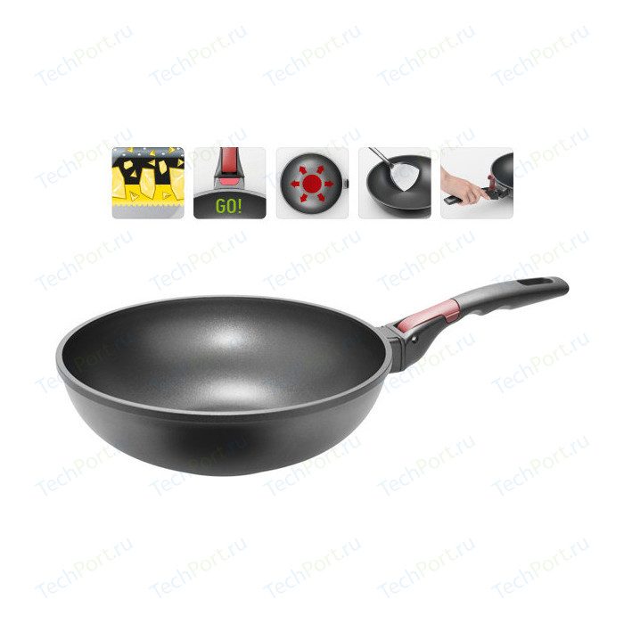 Сковорода WOK Nadoba d 28см Vilma (728222)