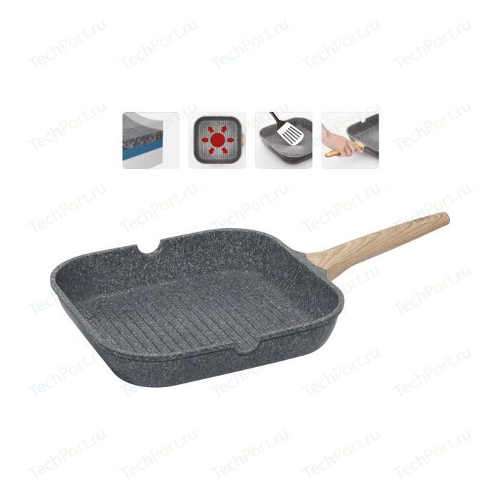 Сковорода-гриль Nadoba 28x28 см Mineralica (728420) сковорода nadoba mineralica 24cm 728428