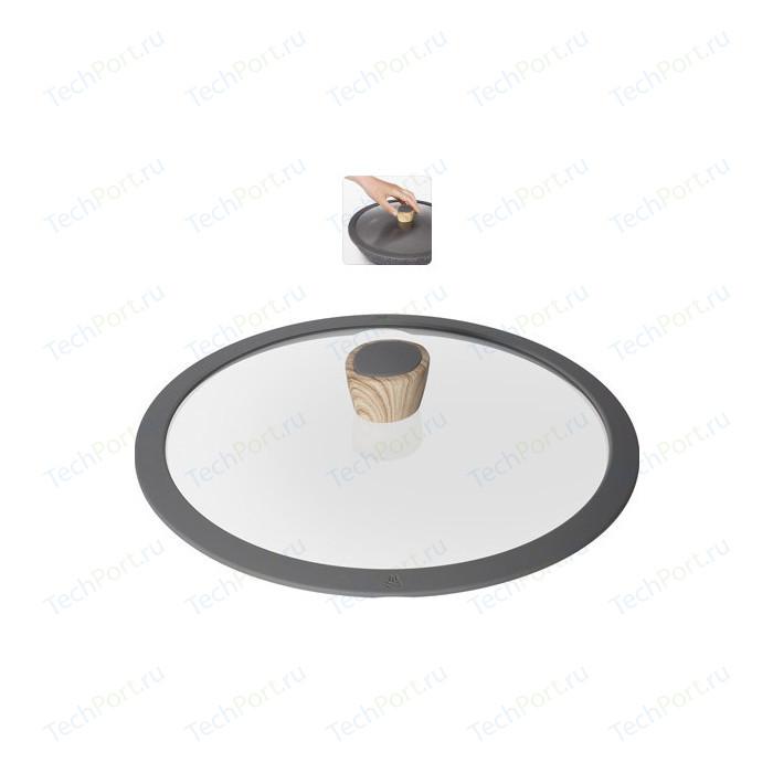 Фото - Крышка с силиконовым ободком d 28 см Nadoba Mineralica (751211) крышка с силиконовым ободком d 24 см nadoba mineralica 751213
