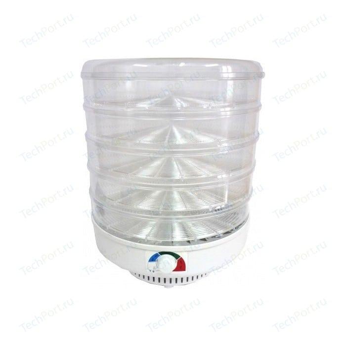 Сушилка для овощей и фруктов Спектр-Прибор ЭСОФ-2-0,6/220 Ветерок-2, прозрачный (5 поддонов)