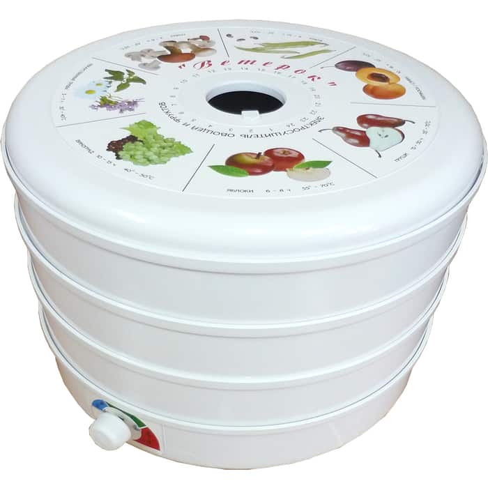 Сушилка для овощей и фруктов Спектр-Прибор ЭСОФ-0,5/220 Ветерок (3 поддона)
