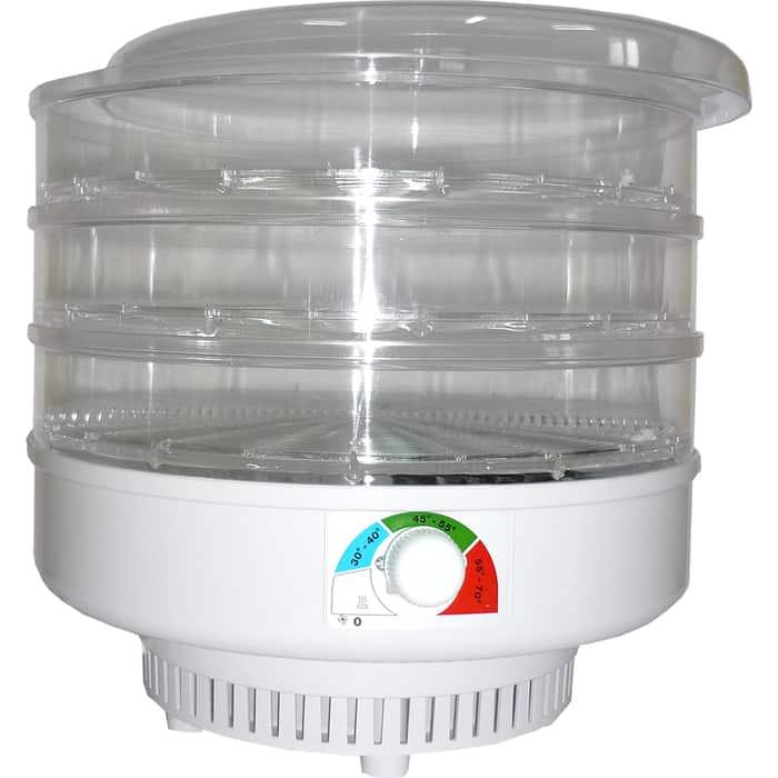 Сушилка для овощей Спектр-Прибор ЭСОФ-0,5/220 Ветерок, 3 поддона (прозрачный)