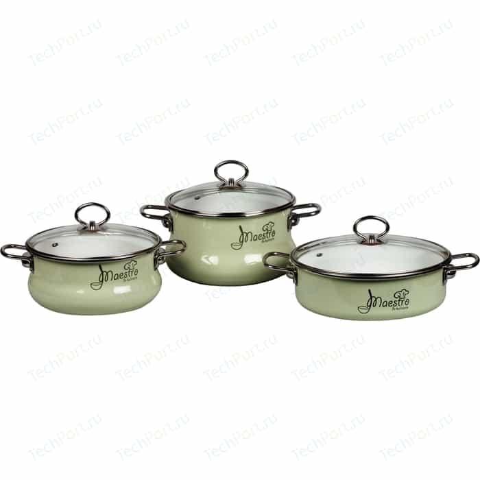 Набор посуды 3 предмета Vitross Maestro (8DT175S салатовый)