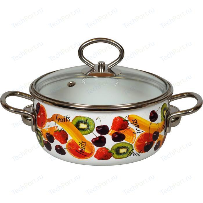 Кастрюля эмалированная 1.5 л Vitross Fruits (1SA165S)