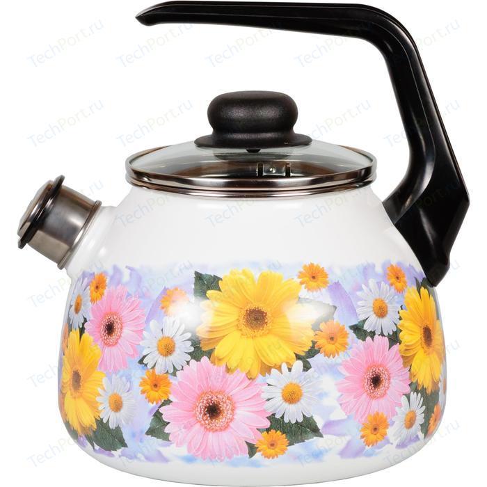 Чайник эмалированный со свистком 3.0 л Vitross Fernanda (1RC12)