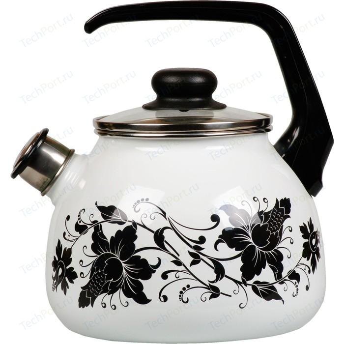 Чайник эмалированный со свистком 3.0 л Vitross Tango (1RC12)