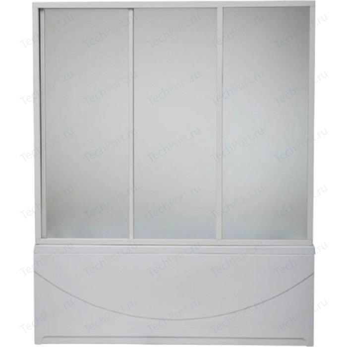 Шторка на ванну BAS Бриз, Верона, Ибица 150 стекло Грейп (ШТ00023)