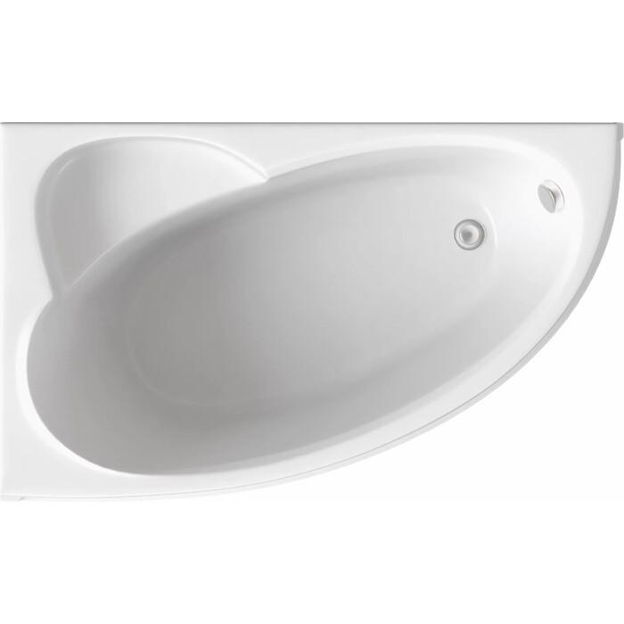 Акриловая ванна BAS Сагра левая 160х100 с каркасом, без гидромассажа (В 00031)