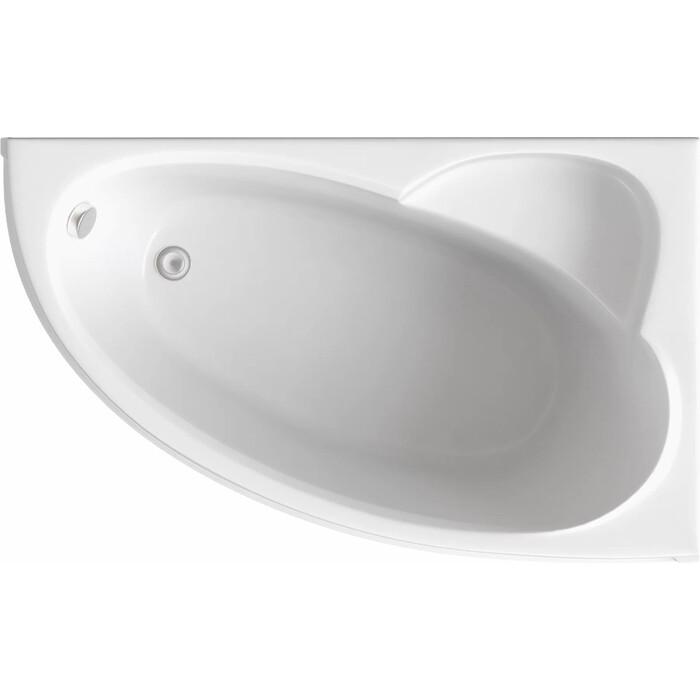 Акриловая ванна BAS Сагра правая 160х100 с каркасом, без гидромассажа (В 00032)