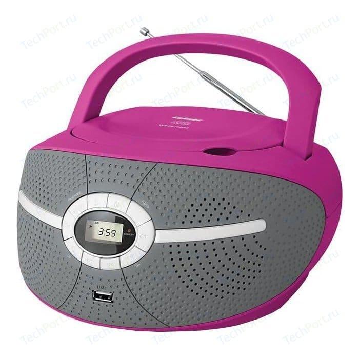 Магнитола BBK BX195U pink