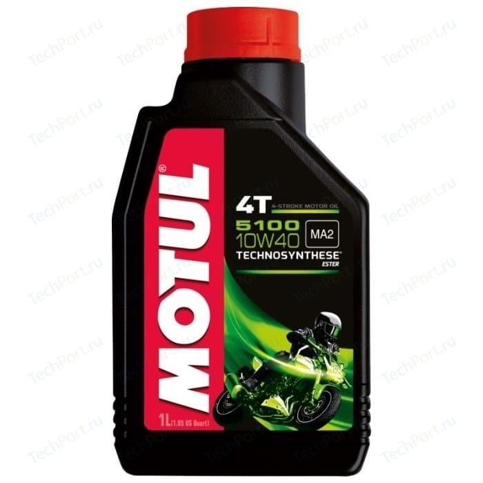 Моторное масло MOTUL 5100 4T 10W-40 1 л