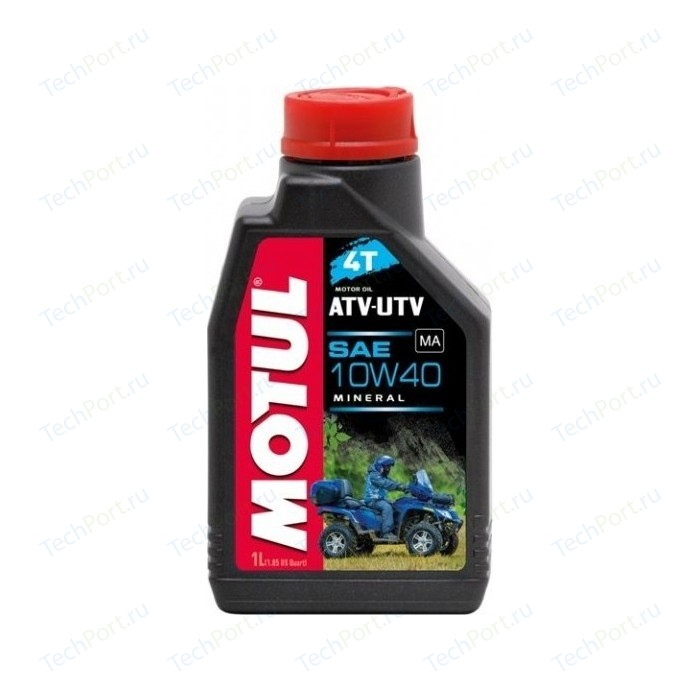 Моторное масло MOTUL ATV-UTV 4T 10W-40 1 л