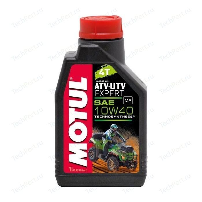 Моторное масло MOTUL ATV-UTV Expert 4T 10W-40 1 л