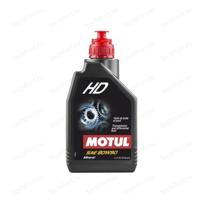 Трансмиссионное масло MOTUL HD 80W-90 2 л