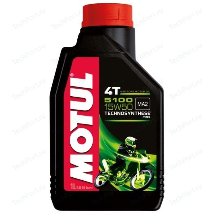 Моторное масло MOTUL 5100 4T 15W-50 1 л