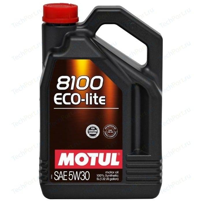 Моторное масло MOTUL 8100 Eco-lite 5W-30 5 л