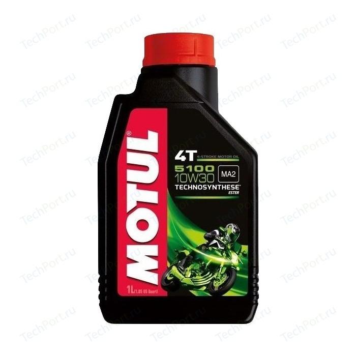Моторное масло MOTUL 5100 4T 10W-30 1 л