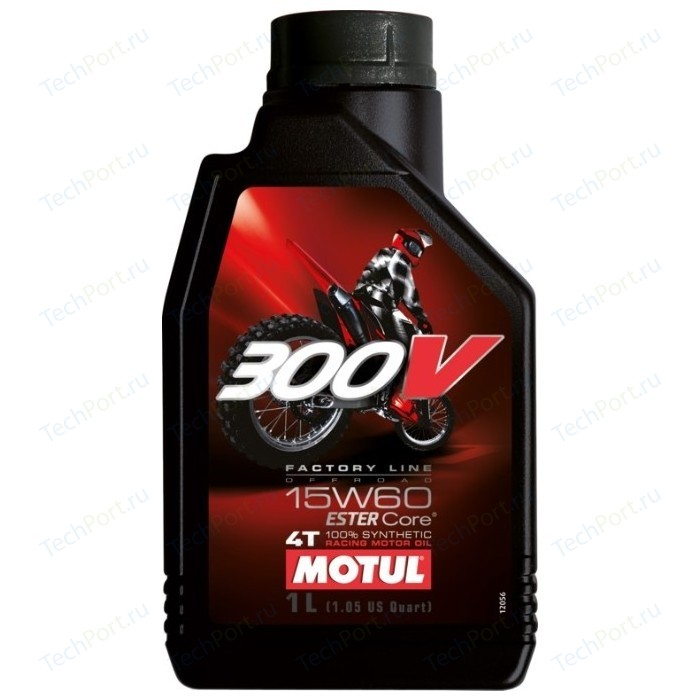 Моторное масло MOTUL 300V 4T Off Road 15W-60 1 л