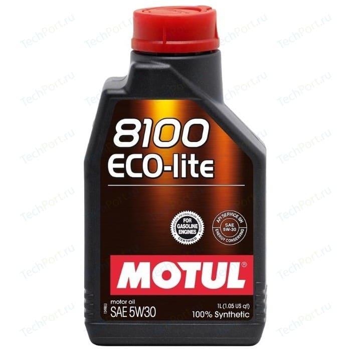 Моторное масло MOTUL 8100 Eco-lite 5W-30 1 л