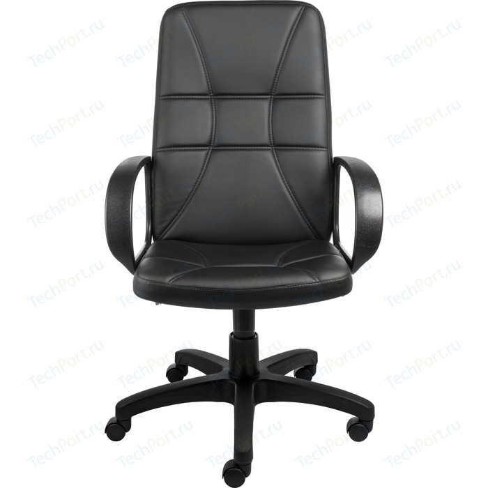 Кресло Алвест AV 114 PL (727) MK эко кожа 223 черная