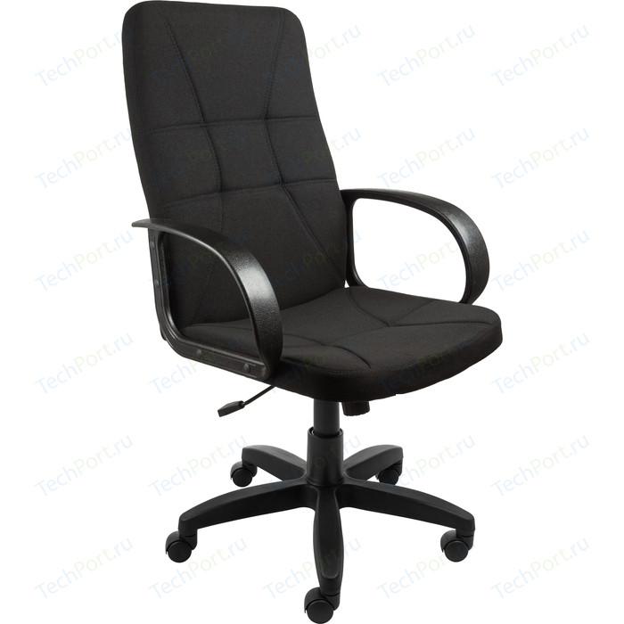 Кресло Алвест AV 114 PL (727) MK ткань 418 черная