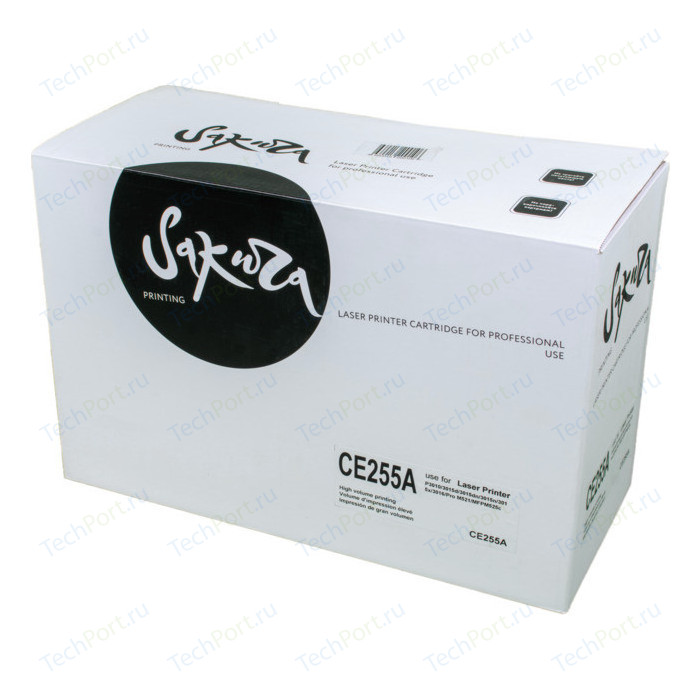 Картридж Sakura CE255A