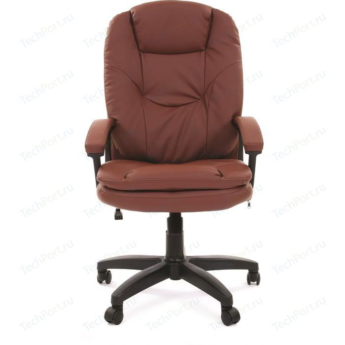 Офисное кресло Chairman 668 LT экопремиум коричневый