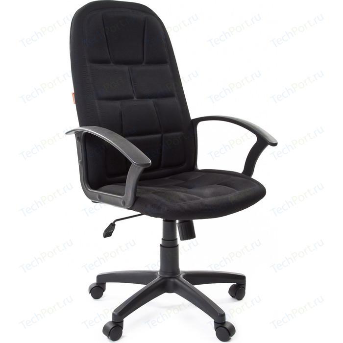 Офисное кресло Chairman 737 TW-11 черный кресло chairman 450 tw 11 tw 01 черный