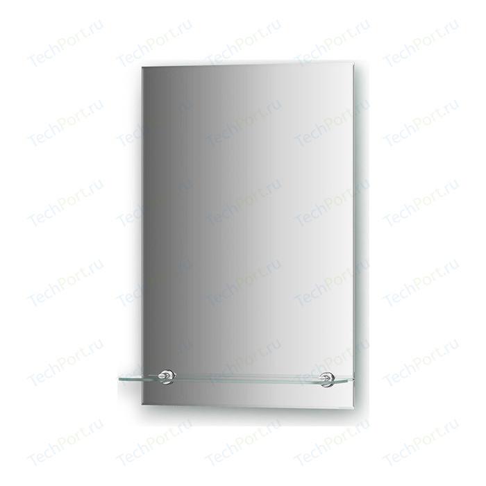 Зеркало Evoform Attractive 40х60 см, с фацетом 5 мм и полочкой 40 см (BY 0502)