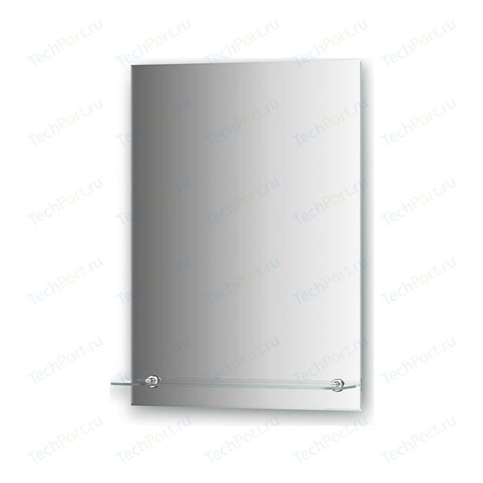 Зеркало Evoform Attractive 50х70 см, с фацетом 5 мм и полочкой 50 см (BY 0504)