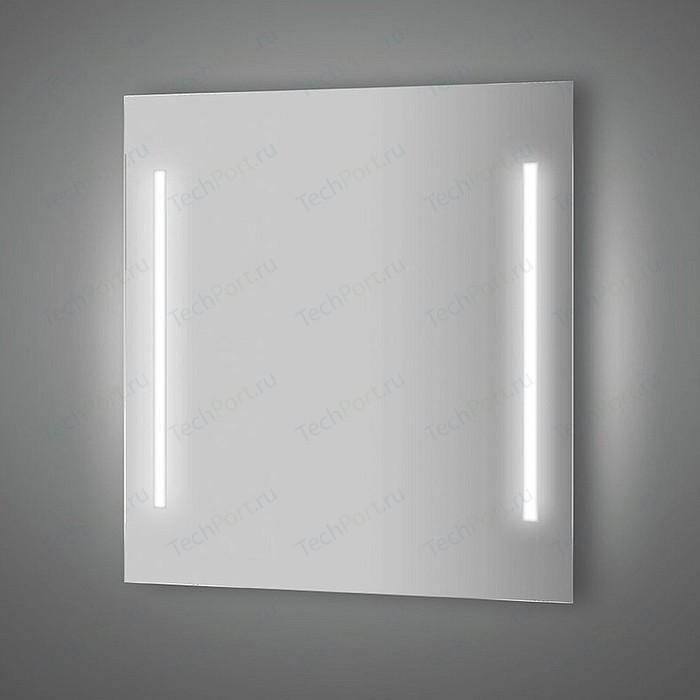 Зеркало Evoform Lumline 70х75 см, с 2-мя встроенными LUM- светильниками 40 W (BY 2016)