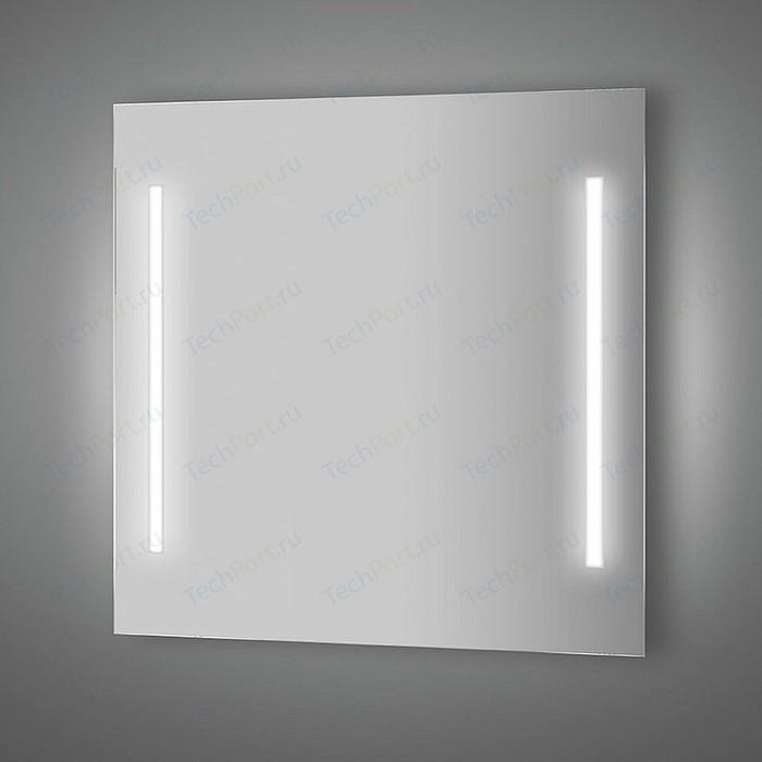 Зеркало Evoform Lumline 80х75 см, с 2-мя встроенными LUM- светильниками 40 W (BY 2017)