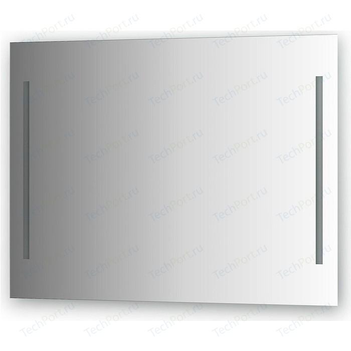 Зеркало Evoform Ledline 100х75 см, с 2-мя встроенными LED- светильниками 10,5 W (BY 2119)