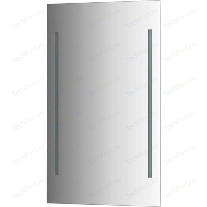 Зеркало Evoform Ledline 60х100 см, с 2-мя встроенными LED- светильниками 14,5 W (BY 2123)