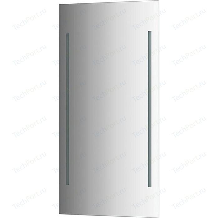 Зеркало Evoform Ledline 60х120 см, с 2-мя встроенными LED- светильниками 18 W (BY 2124)