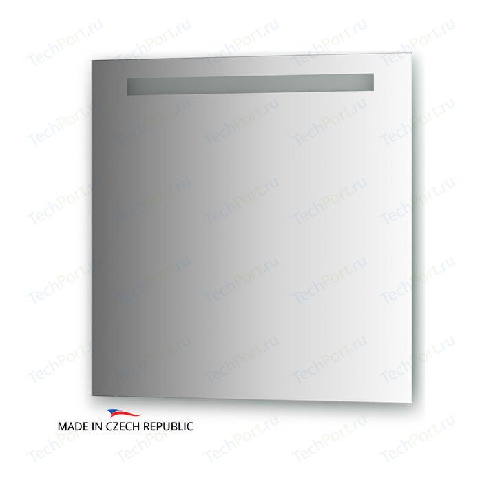 Зеркало Ellux Stripe LED 70х70 см, со встроенным LED- светильником 6 W (STR-A1 9117)