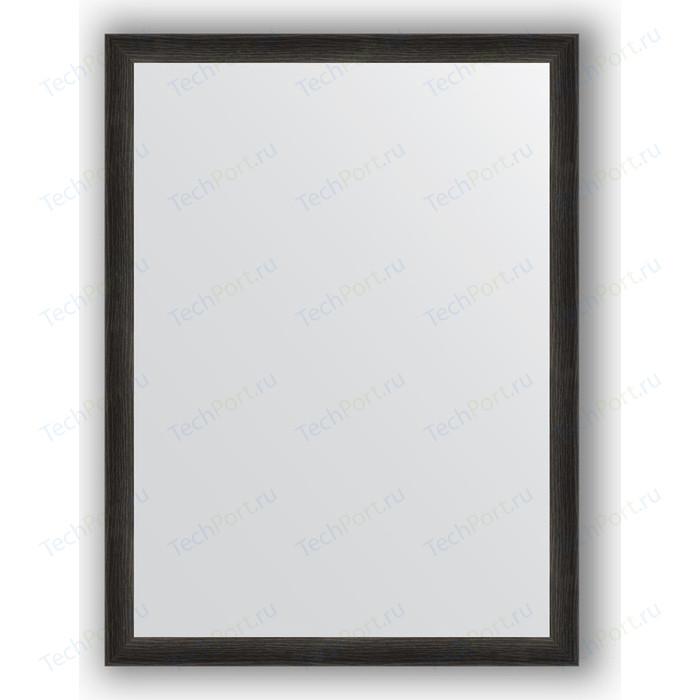 Зеркало в багетной раме поворотное Evoform Definite 60x80 см, черный дуб 37 мм (BY 0648)